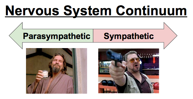 The Dude and Walter would, like, need completely different recovery programs, man.